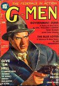 G-Men Detective (1935-1953 Standard Magazines) Pulp Vol. 6 #1