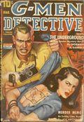 G-Men Detective (1935-1953 Standard Magazines) Pulp Vol. 25 #1