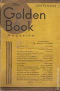 Golden Book Magazine (1925-1935 Review of Reviews) Pulp Vol. 14 #81
