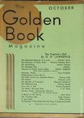 Golden Book Magazine (1925-1935 Review of Reviews) Pulp Vol. 14 #82