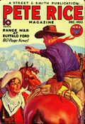 Pete Rice Magazine (1933-1936 Street & Smith) Pulp Dec 1933