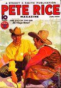 Pete Rice Magazine (1933-1936 Street & Smith) Pulp Jan 1934