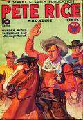 Pete Rice Magazine (1933-1936 Street & Smith) Pulp Feb 1934