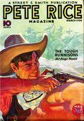 Pete Rice Magazine (1933-1936 Street & Smith) Pulp Mar 1934