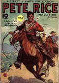 Pete Rice Magazine (1933-1936 Street & Smith) Pulp Oct 1934