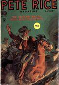 Pete Rice Magazine (1933-1936 Street & Smith) Pulp Aug 1935