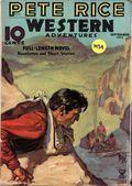 Pete Rice Magazine (1933-1936 Street & Smith) Pulp Sep 1935