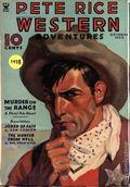 Pete Rice Magazine (1933-1936 Street & Smith) Pulp Oct 1935