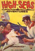 High-Seas Adventures (1934-1935 Gernsback Publications) Pulp Vol. 1 #1