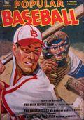 Popular Baseball (1949-1951 Standard Magazines) Pulp Vol. 1 #3