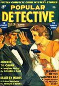 Popular Detective (1934-1953 Beacon/Better) Pulp Vol. 6 #1