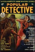 Popular Detective (1934-1953 Beacon/Better) Pulp Vol. 10 #1