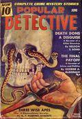Popular Detective (1934-1953 Beacon/Better) Pulp Vol. 17 #1