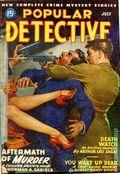 Popular Detective (1934-1953 Beacon/Better) Pulp Vol. 33 #1