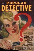 Popular Detective (1934-1953 Beacon/Better) Pulp Vol. 35 #1