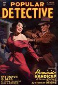 Popular Detective (1934-1953 Beacon/Better) Pulp Vol. 36 #3