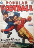 Popular Football (1941-1951 Standard Magazines) Pulp Vol. 4 #1
