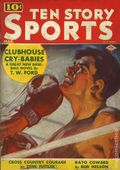 Ten Story Sport (1937-1941 Columbia) 1st Series Vol. 7 #4