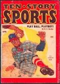 Ten Story Sports (1952-1957 Columbia) Pulp 2nd Series Vol. 8 #1