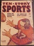 Ten Story Sports (1952-1957 Columbia) Pulp 2nd Series Vol. 8 #4