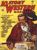 10 Story Western Magazine (1936-1954 Popular) Pulp Vol. 34 #3
