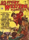 10 Story Western Magazine (1936-1954 Popular) Pulp Vol. 37 #1