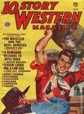 10 Story Western Magazine (1936-1954 Popular) Pulp Vol. 38 #4