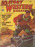 10 Story Western Magazine (1936-1954 Popular) Pulp Vol. 49 #1