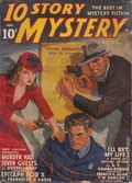 10 Story Mystery Magazine (1941-1943 Popular) Pulp Vol. 2 #1