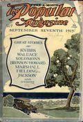 Popular Magazine (1903-1931 Street & Smith) Pulp Vol. 53 #6