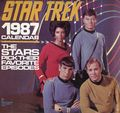Star Trek Calendar (1975-Present Pocket Books/Andrews McMeel) The Original Series YR-1987
