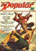 Popular Magazine (1903-1931 Street & Smith) Pulp Vol. 92 #4