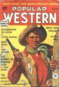 Popular Western (1934-1953 Better Publications) Pulp Vol. 1 #1