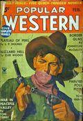 Popular Western (1934-1953 Better Publications) Pulp Vol. 2 #1