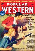 Popular Western (1934-1953 Better Publications) Pulp Vol. 4 #2
