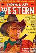 Popular Western (1934-1953 Better Publications) Pulp Vol. 8 #1