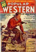 Popular Western (1934-1953 Better Publications) Pulp Vol. 11 #3