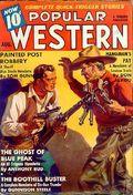 Popular Western (1934-1953 Better Publications) Pulp Vol. 12 #1