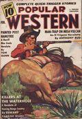 Popular Western (1934-1953 Better Publications) Pulp Vol. 14 #1