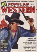 Popular Western (1934-1953 Better Publications) Pulp Vol. 15 #3