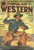 Popular Western (1934-1953 Better Publications) Pulp Vol. 17 #2
