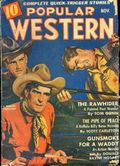 Popular Western (1934-1953 Better Publications) Pulp Vol. 21 #3