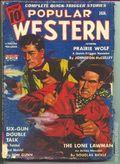 Popular Western (1934-1953 Better Publications) Pulp Vol. 24 #1