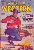 Popular Western (1934-1953 Better Publications) Pulp Vol. 32 #1