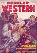Popular Western (1934-1953 Better Publications) Pulp Vol. 33 #2