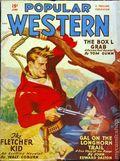 Popular Western (1934-1953 Better Publications) Pulp Vol. 38 #3