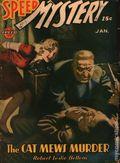 Speed Mystery (1943-1946 Trojan-Arrow) Pulp Jan 1944