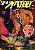 Speed Mystery (1943-1946 Trojan-Arrow) Pulp Vol. 3 #1