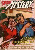 Speed Mystery (1943-1946 Trojan-Arrow) Pulp Dec 1945