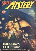 Speed Mystery (1943-1946 Trojan-Arrow) Pulp Mar 1946